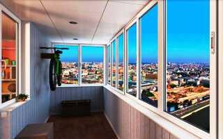 Варианты остекления лоджии и балкона в современной квартире