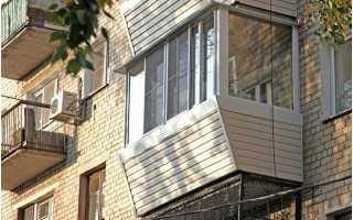 Отделка квартирной лоджии сайдингом внутри и снаружи