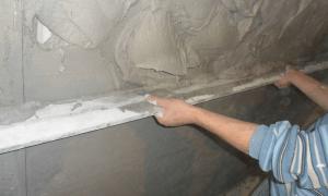 Штукатурка стен: её виды и способы нанесения