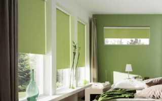 Выбор и установка рулонных штор на пластиковые окна