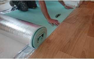 Как класть линолеум на бетонный пол
