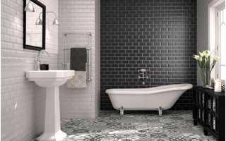 Отделка ванной комнаты и туалета: особенности и способы