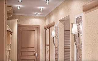 Об организации освещения комнаты с натяжными потолками