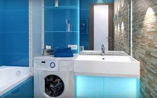 Уютная и красивая ванная комната в обычной квартире