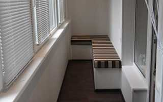 Этапы ремонта балкона или лоджии