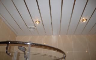 Как сделать монтаж реечного потолка своими руками