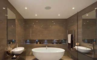 Потолок в ванной комнате – эстетическая составляющая