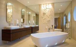 Декоративная штукатурка в ванной: как выбирать, как наносить