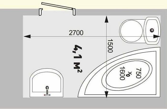 План ремонта ванной