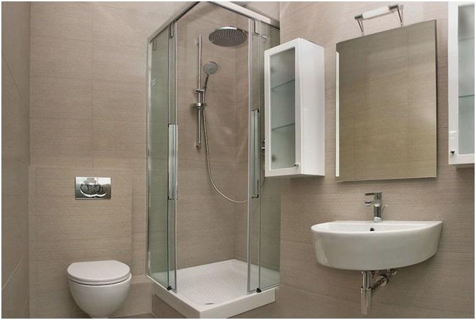 ремонт маленькой ванны и туалета